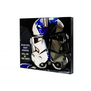 Popart - Blue Storm Trooper