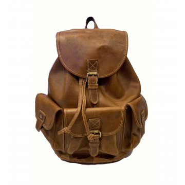 Horse Leather Backpack